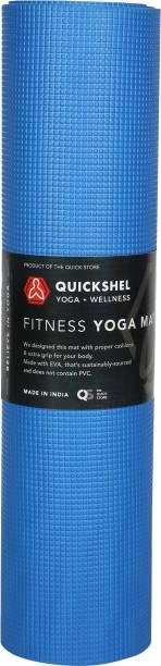 Quick Shel benefits yoga mat Blue 6MM mm Yoga Mat
