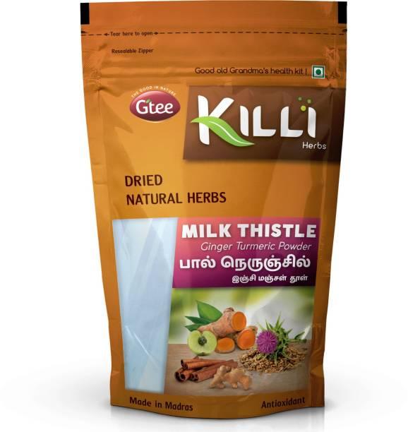 KILLI Milk Thistle Ginger Turmeric Cinnamon Amla Powder, 100g