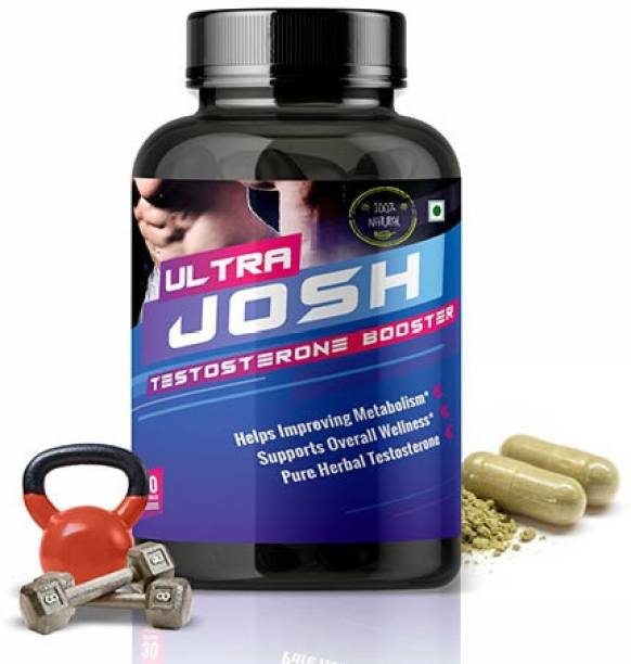 NutraFirst Ultra Josh Testosterone Booster Supplement for Men 1B (30 Tablets)