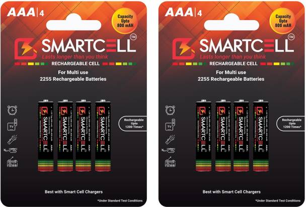 Smartcell AAA Ni-MH Rechargeable 800mAH  Battery