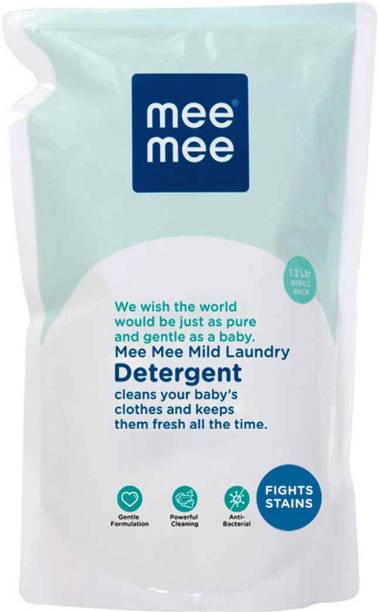 MeeMee Mild Baby Liquid Laundry Detergent Refill Pack (1.2 L) Liquid Detergent