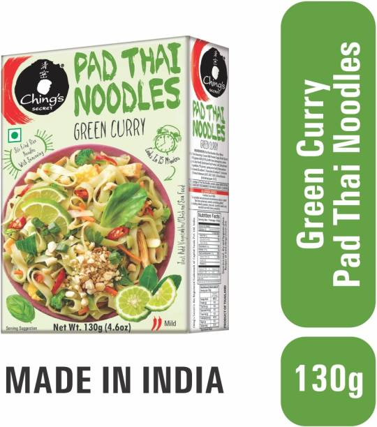 Ching's Secret Pad Thai Green Curry Instant Noodles Vegetarian