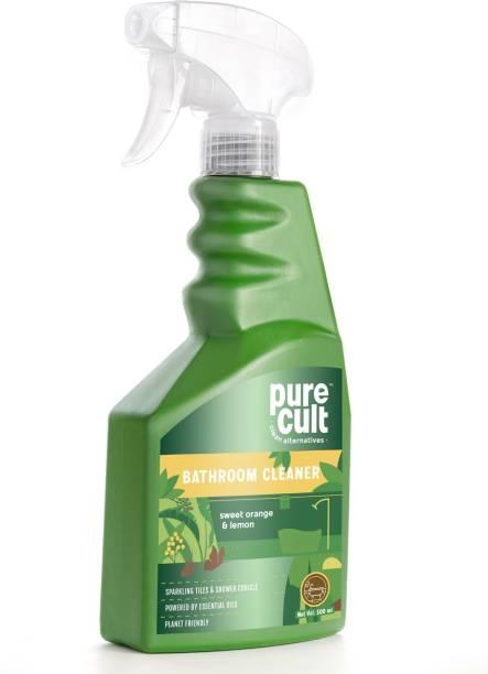 purecult BATHROOM CLEANERS SWEET ORANGE & LEMON