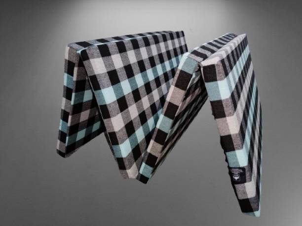 MOROFEEL 4 Fold 3 inch Single Cotton Mattress