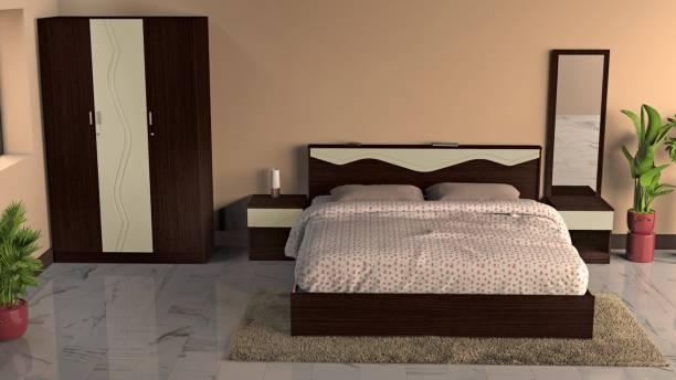 Godrej Interio Vurv Engineered Wood King Box Bed