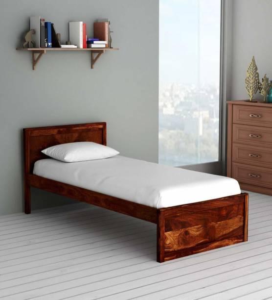 CORAZZIN Solid Wood Single Bed