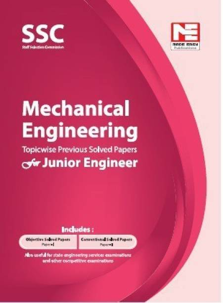 Ssc : Je Mechanical Engineering Previous Year Solved Papers