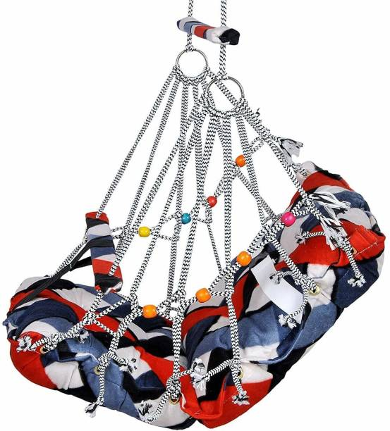 BROTHER And SISTA swing jOne New Cotton Baby Swing for cotton baby hula (Multicolor) Swings