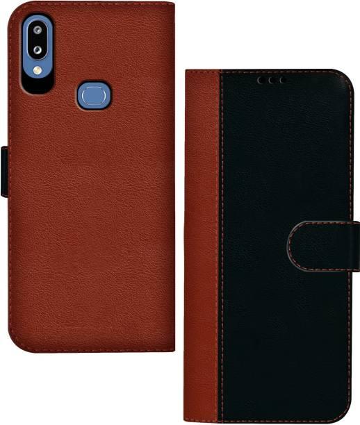 Hupshy Flip Cover for Samsung Galaxy M01s
