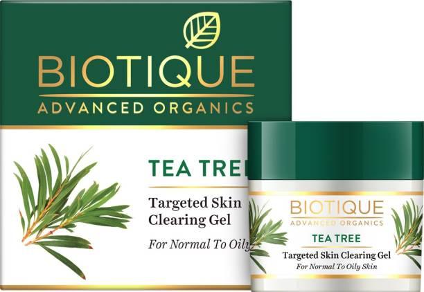 Biotique Advanced Organics Tea Tree Targeted Skin Clearing Gel 15Gm