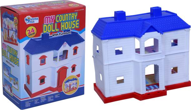 Myhoodwink MY COUNTRY DOLL HOUSE FOR BOYS AND GIRLS KIDS (24 PCS)