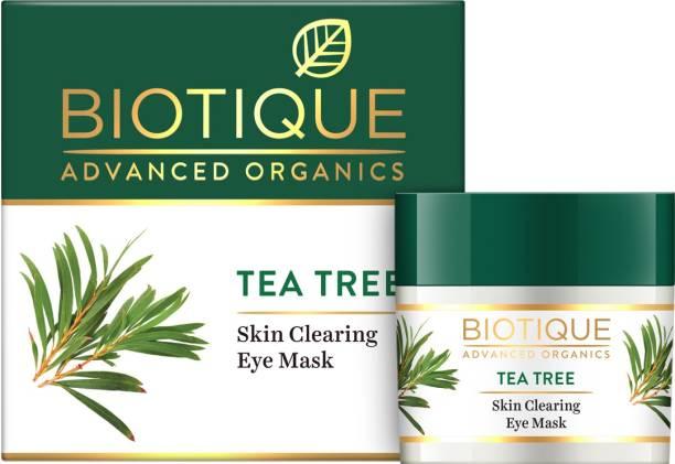 Biotique Advanced Organics Tea Tree Skin Clearing Eye Mask 15Gm