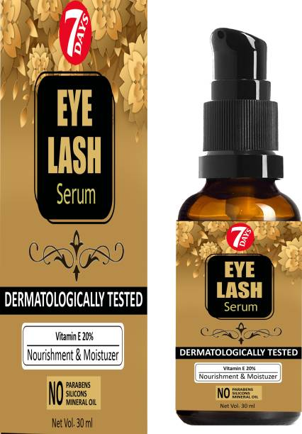 7 Days Premium Eyebrow & Eyelash Growth Oil For Women - Strength with Pure Natural Ingredient 30 ml