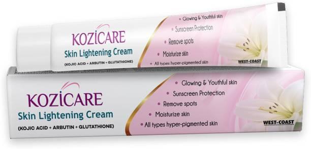 West Coast Kozicare Skin Whitening Cream Pack Of 4