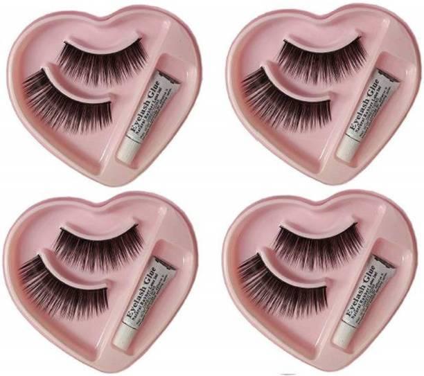 ShopCircuit False-Fake Eyelashes With Glue