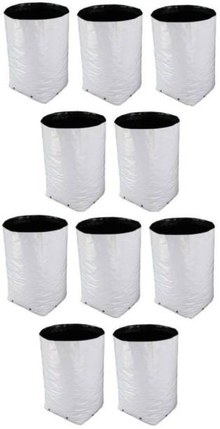 Fabtastic Grow Bags for Home and Terrace Gardening of Plants, 24x24x40 CMs, 150 Micron, 600 Gauge, (Pack of 10) Grow Bag