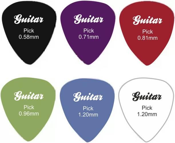 HOTCHPOTCH Alice Picks 6 pcs Guitar Picks Guitar Pick