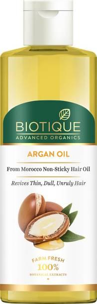 Biotique Advanced Organics Argan Oil From Morocco Non-Sticky Hair oil 200ml Hair Oil