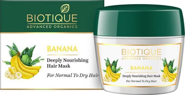Biotique Advanced Organics Banana Deeply Nourishing Hair Mask 175Gm