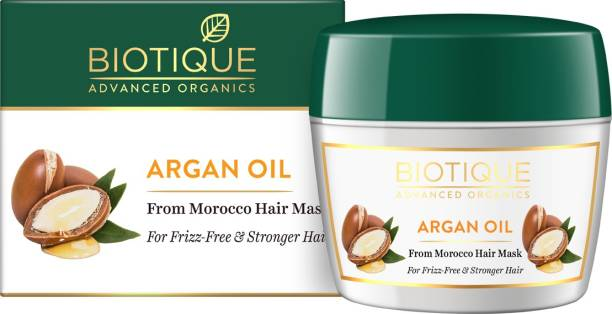 Biotique Advanced Organics Argan Oil From Morocco Hair mask 175Gm