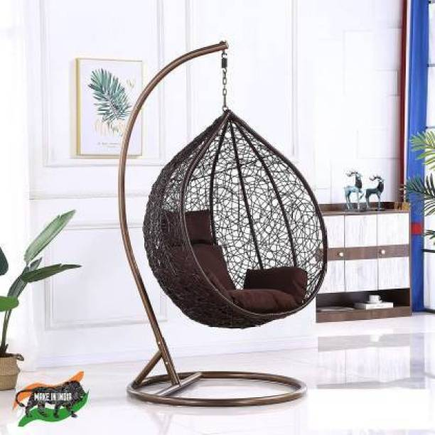 Spyder Home Decor Luxurious swing chair Iron, Plastic Large Swing
