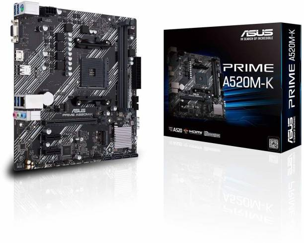 ASUS PRIME-A520M-K AMD AM4 Micro-ATX Gaming Motherboard