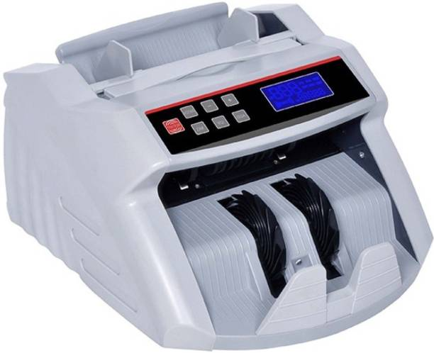 GOBBLER PX5388-MG Note Counting Machine with Fake Note Detection and Big LCD Screen with External Display for customer viewing Note Counting Machine
