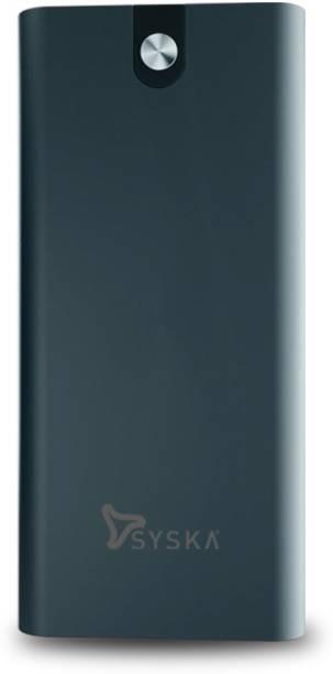 Syska 20000 mAh Power Bank (18 W, Fast Charging)
