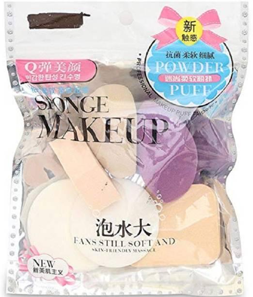 AVTY Make Up Sponge Beauty Blender Puff (Color May Vary)- Set of 6