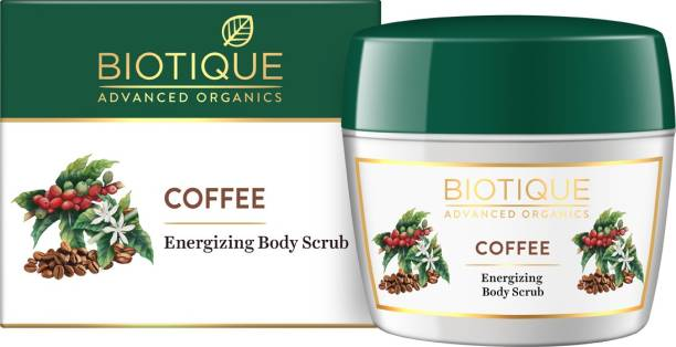 Biotique Advanced Organics Coffee Energizing Body Srcub 50gm Scrub