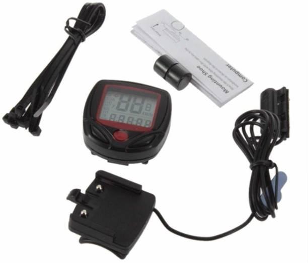 MOOLTEN Waterproof Bicycle Computer Odometer Speedometer Digital Speedometer