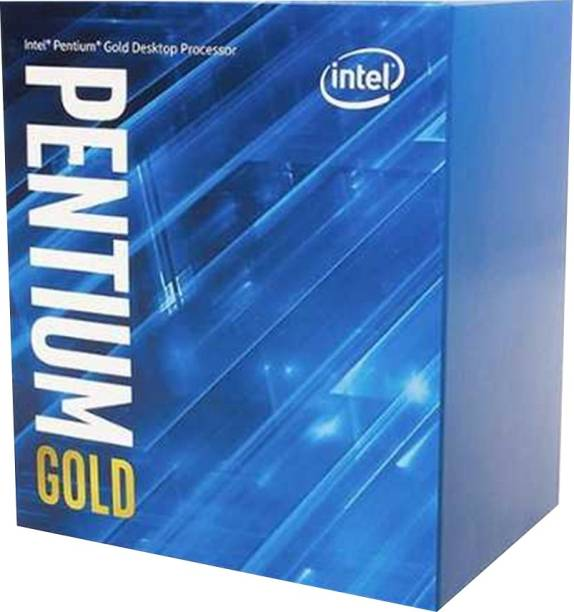 Intel Pentium Gold G6400 4 GHz LGA 1200 Socket 2 Cores 4 Threads 4 MB Smart Cache Desktop Processor