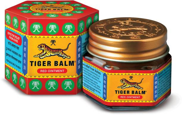Tiger Balm Red Ointment (Pack of 4) Balm