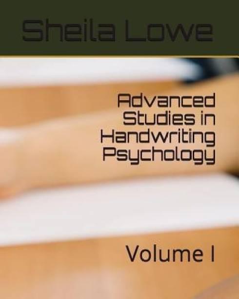 Advanced Studies in Handwriting Psychology