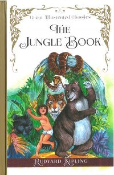 GREAT ILLUSTRATED CLASSICS:JUNGLE BOOK (GIC)