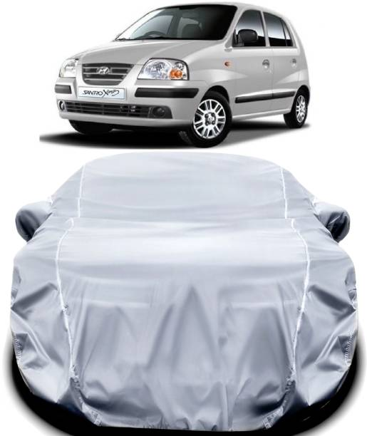 ANOXE Car Cover For Hyundai Santro Xing (With Mirror Pockets)