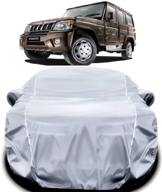 ANTIRO Car Cover For Mahindra Bolero (With Mirror Pockets)