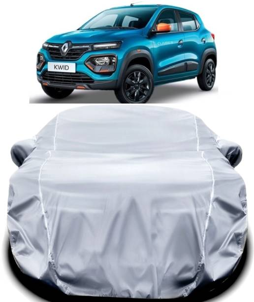 ANTIRO Car Cover For Renault Kwid (With Mirror Pockets)