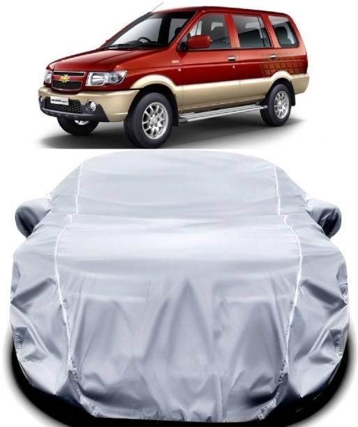 ANTIRO Car Cover For Chevrolet Tavera (With Mirror Pockets)