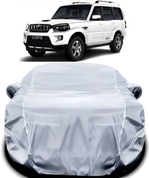 ANTIRO Car Cover For Mahindra Scorpio (With Mirror Pockets)
