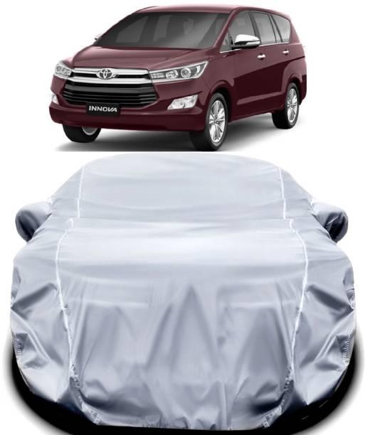 ANTIRO Car Cover For Toyota Innova Crysta (With Mirror Pockets)