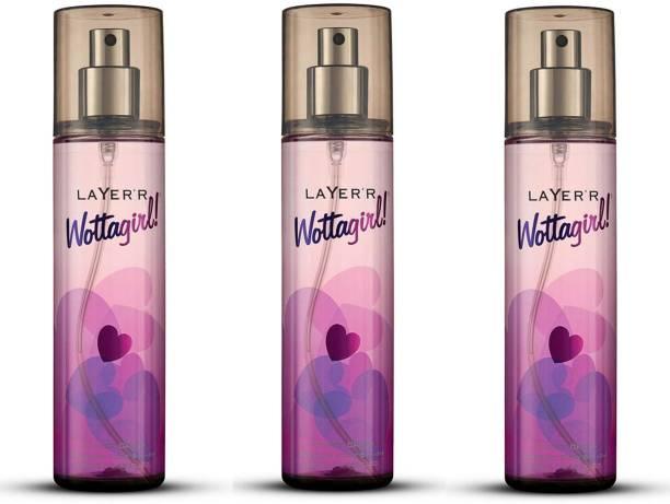 LAYER'R Wottagirl! - SECRET CRUSH Body Spray  -  For Women