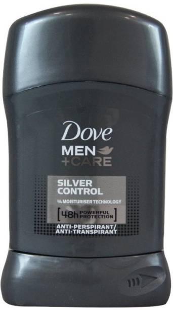 DOVE MAN + CARE SILVER CONTROL DEODORANT STICK Deodorant Stick  -  For Men