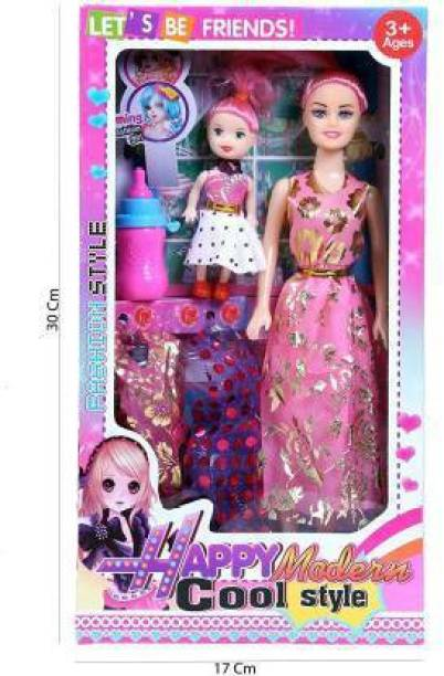 NV COLLECTION Fashion Girl Doll Set BEAUTY GIRL OUTFIT PARTY DRESSES Doll for kids