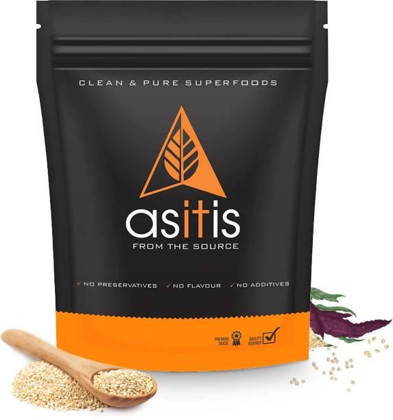AS-IT-IS Nutrition Organic Quinoa Seeds - 1200g | Excellent Vegan Protein Source | Gluten-Free | Fibre-Rich | Nutrient-Dense
