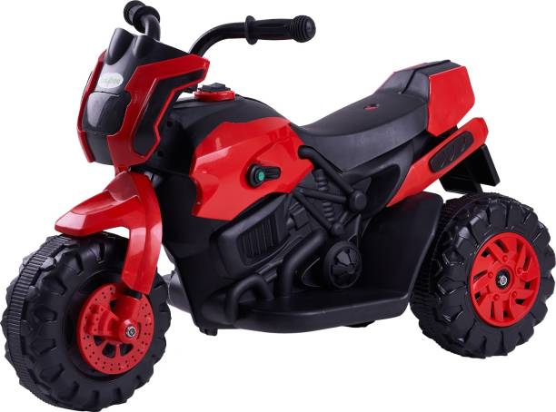 baybee Battery Operated Bike for Kids Motor Bike for Kids-Electric Bike for Kids with (1) motor and (6V battery) suitable upto (1-3 years) Bike Battery Operated Ride On