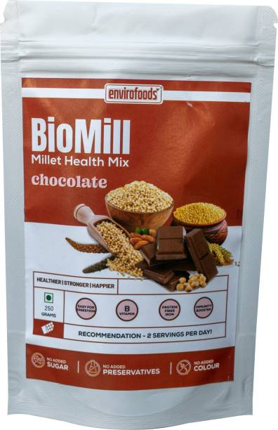 envirofoods by Envirofoods BioMill Millet Health Mix Chocolate