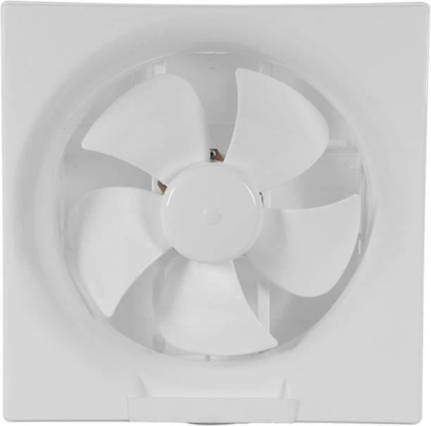 Muchmore Ventilation Fan 9 inches (200mm) Blade Size Exhaust Fan for Home, Kitchen, Office and Bathroom, White 200 mm Exhaust Fan