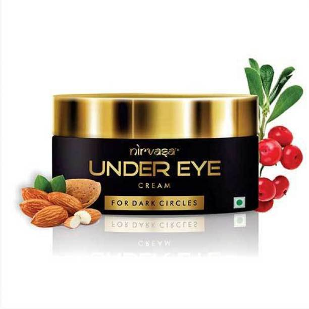Nirvasa Under Eye Cream Enriched with Natural Oils to Remove Dark Circles & Wrinkles