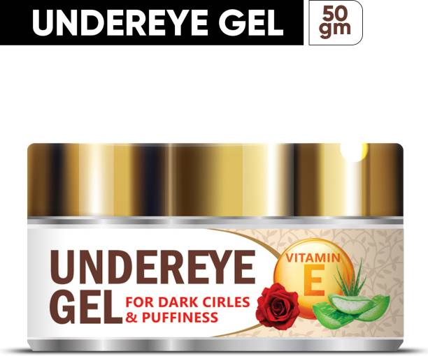 Organic Shine Aloe Vera Under Eye Gel With Rose Extract & Vitamin-E